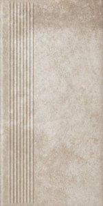 PARADYZ viano beige stopnica prosta 30x60 g1