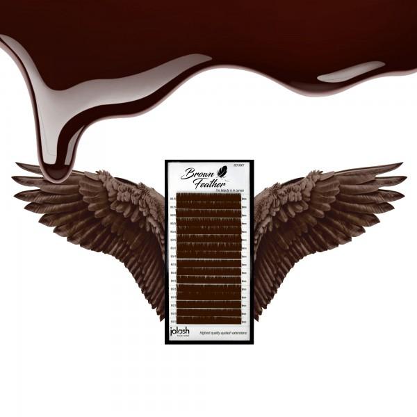 Rzęsy Brown Feather 0,05 Mix
