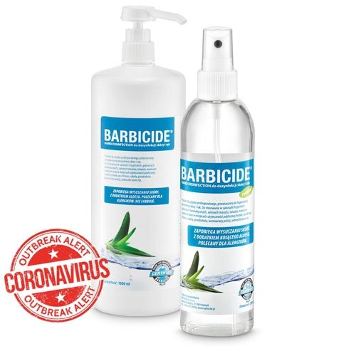 BARBICIDE Hand Disinfection 1000 ml