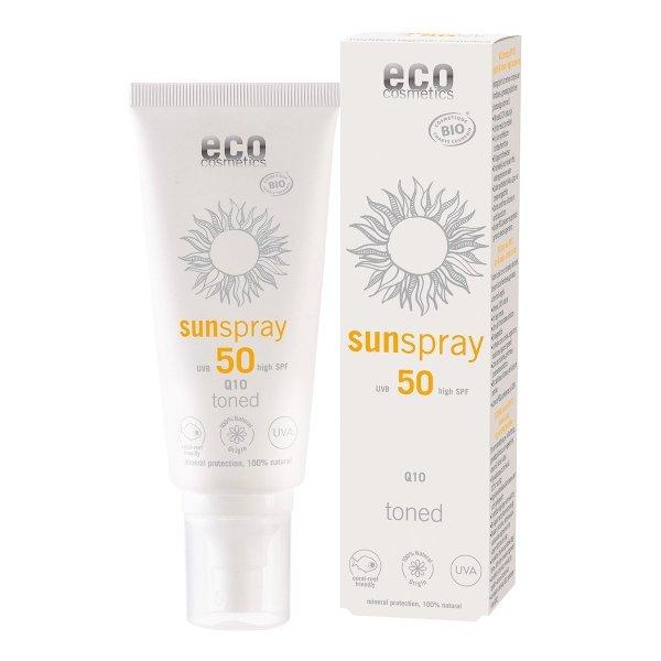 C5476 Spray na słońce z Q10 Tonowany SPF 50 100 ml