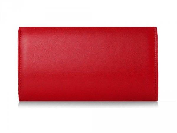 Kopertówka torebka damska M31 Solome czerwona tył