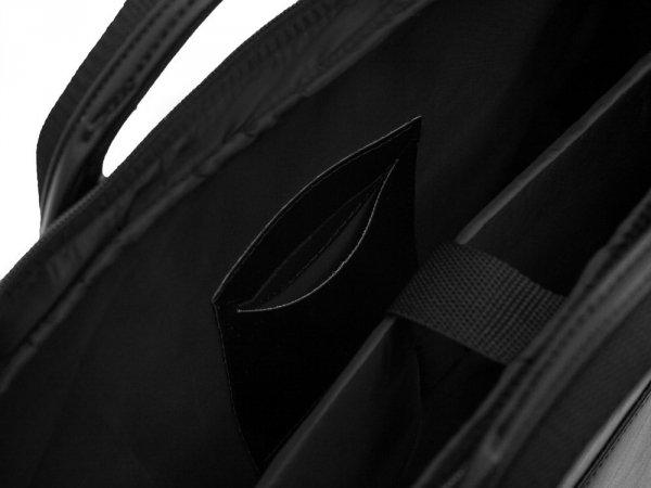 Torba na laptop Solier S13 czarna detal 2