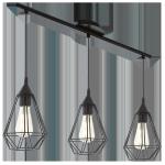 LAMPA WISZĄCA EGLO TARBES BLACK 94189