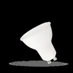 ŻARÓWKA LED 6W 230V GU10 z MLECZNĄ SZYBKĄ WOJ+13267 BARWA NEUTRALNA