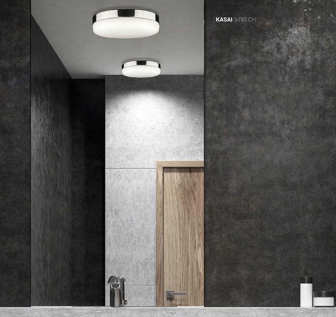 Lampa Sufitowa Plafon Do łazienki Satynowy Nowodvorski Tugela 9493