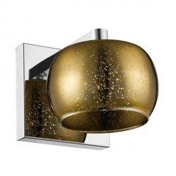 LAMPA WEWNĘTRZNA (KINKIET) ZUMA LINE VISTA WALL W0076-01B-B5GQ ZŁOTY