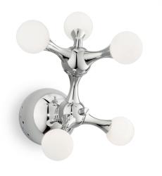 KINKIET DESIGNERSKI CHROM IDEAL LUX NODI PL5 022277