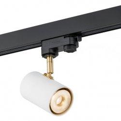 NOWCZESNY REFLEKTOR LED 9W DO ZAMONTOWANIA NA SZYNOPRZEWODZIE 3F ARGON HAGA 4325
