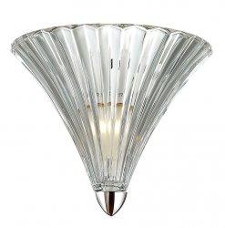 KRYSZTAŁOWY KINKIET ITALUX BLOS MA05080W-001 CHROM