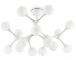 DESIGNERSKA LAMPA SUFITOWA NODINO PL15 IDEAL LUX