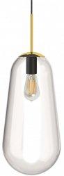 NOWODVORSKI PEAR L 8671 ZŁOTA DESIGNERSKA LAMPA WISZĄCA KULA LOFT
