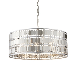 NOWOCZESNA LAMPA SUFITOWA WISZĄCA GLAMOUR ENDON ELDORA 81965
