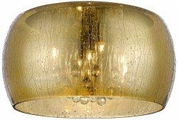 ZUMA LINE RAIN CEILING C0076-05L-F4L9 LAMPA WEWNĘTRZNA SUFITOWA PLAFON ZŁOTA