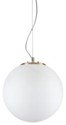 NOWOCZESNA LAMPA WISZĄCA GRAPE SP1 SMALL IDEAL LUX KULA BIAŁA
