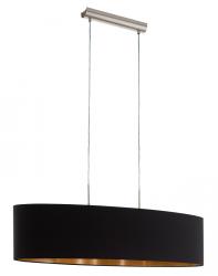 LAMPA WISZĄCA EGLO PASTERI 94916 CZARNA