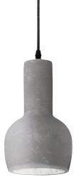 BETONOWA LAMPA WISZĄCA OIL--3  IDEAL LUX 110431