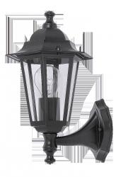 RABALUX LAMPA KINKIET ŚCIENNA OGRODOWA VELENCE 8204 CZARNY