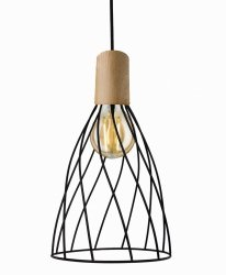 DRUCIANA LAMPA WISZĄCA LIGHT PRESTIGE MODERNO LP-1221/1P L E27 BK