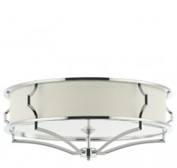 SREBRNA LAMPA SUFITOWA GLAMOUR ORLICKI DESIGN STESSO PL CROMO M ORLICKI DESIGN