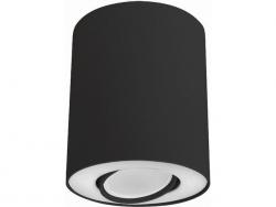 LAMPA NOWODVORSKI SET 8903 OPRAWA SUFITOWA TUBA CZARNY/BIAŁY NOWOCZESNA