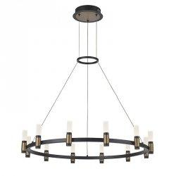 INDUSTRIALNA LAMPA WISZĄCA LED ITALUX ALAMO PND-280110130-12A-MBL