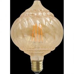 ŻARÓWKA DEKORACYJNA LED VINTAGE AMBER BC125 E27 450lm, 4W, 2700K FILAMENT