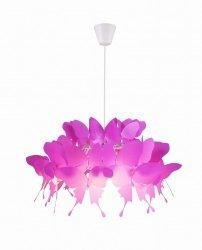 DZIECIĘCA LAMPA WISZĄCA LIGHT PRESTIGE FARFALLA LP-3439/1P dark pink