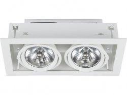 LAMPA DO ZABUDOWY W SUFIT WPUSZCZANA NOWODVORSKI DOWNLIGHT WHITE 9573  BIAŁA
