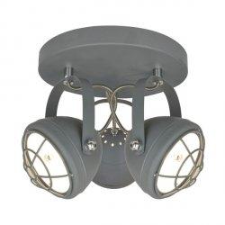 LAMPA PLAFON BALVE G917006-3R SZARA ZUMA LINE
