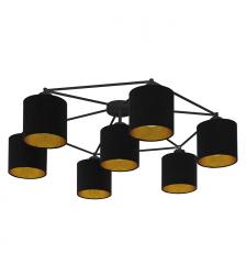 EGLO STAITI 97895 LAMPA SUFITOWA PLAFON CZARNY