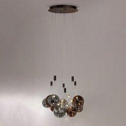 DESIGNERSKA LAMPA WISZĄCA PRALERIA ITALUX