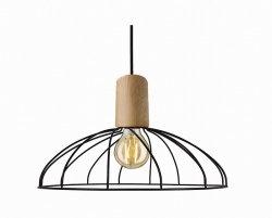 DRUCIANA LAMPA WISZĄCA LIGHT PRESTIGE MODERNO LP-1221/1P B E27 BK