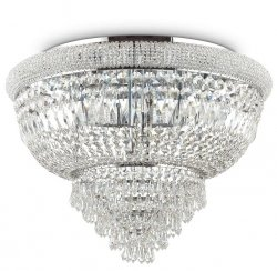KRYSZTAŁOWA LAMPA SUFITOWA DUBAI PL24 IDEAL LUX