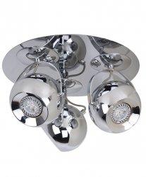 LAMPA SUFITOWA SPOT ITALUX JAMES CH FH5953-SPR-120 CHROM