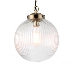 NOWOCZESNA LAMPA SZKLANA KULA ENDON BRYDON 71123
