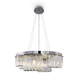 KRYSZTAŁOWA LAMPA WISZĄCA COLLIN MAYTONI MOD083PL-06CH ŻYRANDOL KRUSZTAŁOWY GLAMOUR DO SALONU