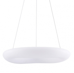 ITALUX DONATO 5312-850RP-WH-3 NOWOCZESNA LAMPA WISZĄCA LED KOŁO OKRĄG BIAŁA