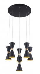 LAMPA SUFITOWA WISZĄCA CORNET P0331