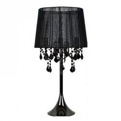 ABAŻUROWA LAMPA SYOŁOWA LIGHT PRESTIGE MONA LP-5005/1T czarna