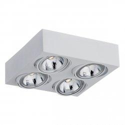 NOWOCZESNY SPOT SUFITOWY LED ARGON RODOS 1574 4x5W