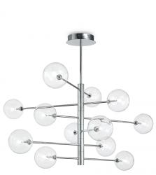 DESIGNERSKA LAMPA WISZĄCA EQUINOXE SP12 IDEAL LUX CHROM