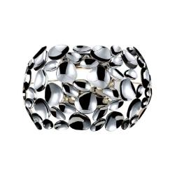 KINKIET CHROM GLAMOUR CARERA PARETTE CROMO ORLICKI DESIGN