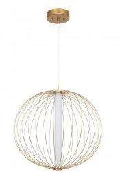 NOWOCZESNA LAMPA WISZĄCA LED LIGHT PRESTIGE TREVISO LP-798/1P L GD