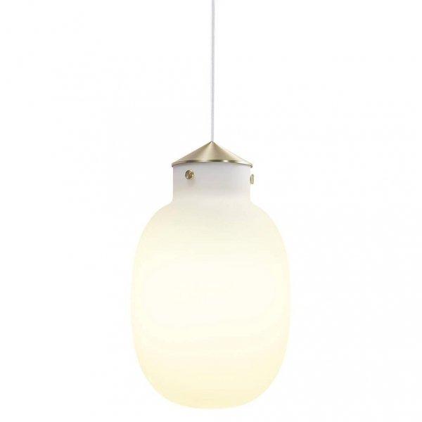 NOWOCZESNA LAMPA WISZĄCA RAITO 22 DESIGN FOR THE PEOPLE 48043001 DESIGNERSKA BIAŁKU KLOSZ