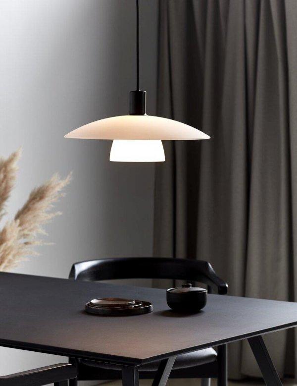 SKANDYNAWSKA LAMPA WISZĄCA VERONA NORDLUX BIAŁA