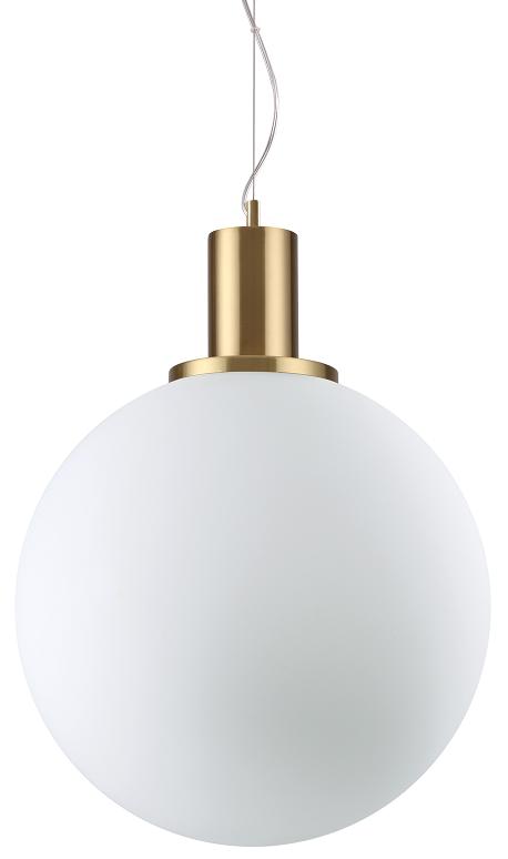NOWOCZESNA LAMPA WISZĄCA LOKO SP1 IDEAL LUX MOSIĘŻNA