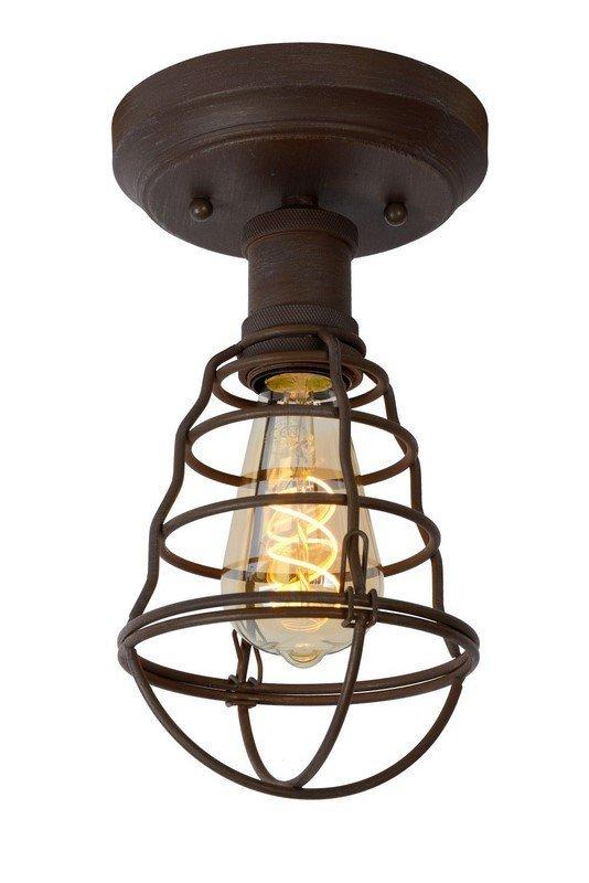 INDUSTRIALNA LAMPA SUFITOWA PLAFON LUCIDE ZYCH 45156/01/97