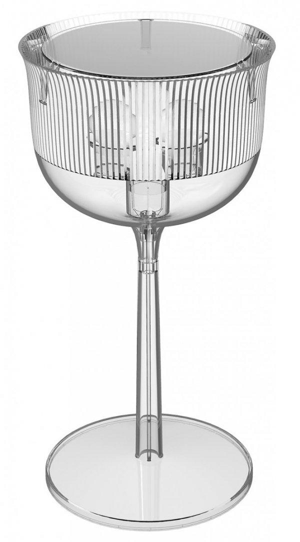 LAMPA STOŁOWA GOBLET 21002TR-T POLIWĘGLAN PRZEZROCZYSTA QEEBOO