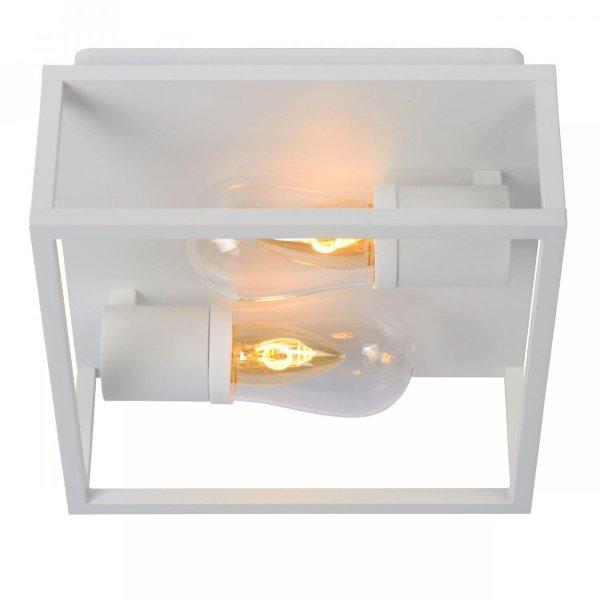 NOWOCZESNA LAMPA SUFITOWA PLAFON ZEWNĘTRZNY LUCIDE CARYN 27100/02/31