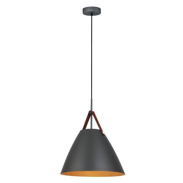 SKANDYNAWSKA LAMPA WISZĄCA DO JADALNI ITALUX QUANTO PEN-5026-1-L-BR